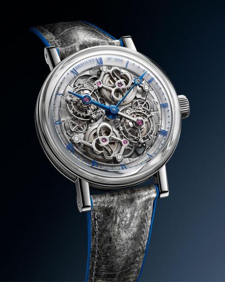 Часы Classique Double Tourbillon 5345 Quai d'Horloge, Breguet
