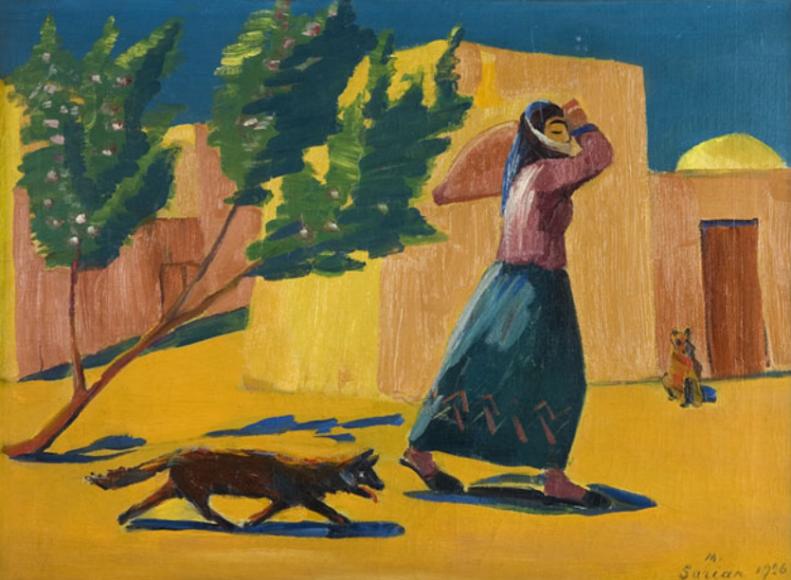 Мартирос Сарьян. К роднику, 1926
