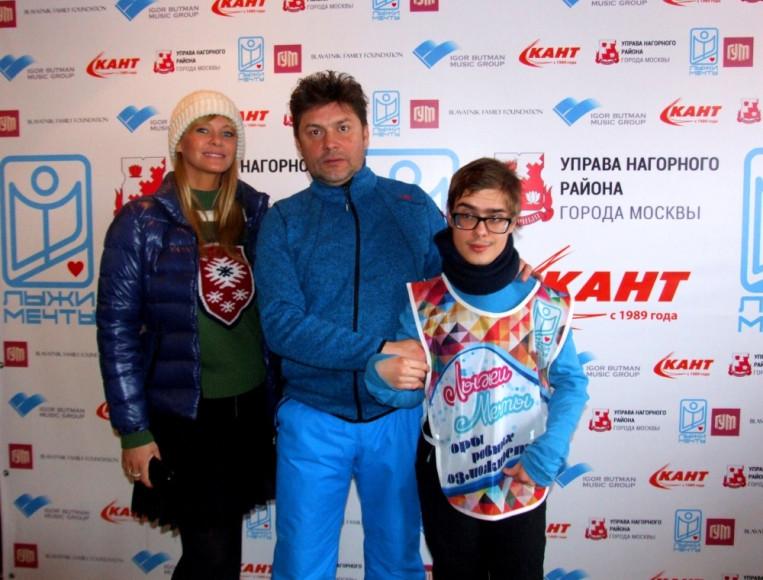 Екатерина Лиепа, Prime Academy, Сергей Белоголовцев, основатель программы Лыжи мечты и Евгений
