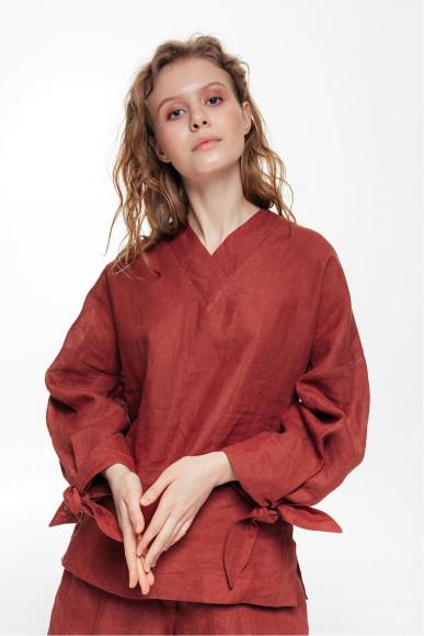 Льняная блуза Balcony, 4000 руб.