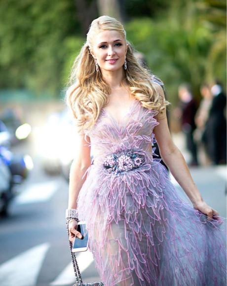 Пэрис Хилтон в Yanina Couture