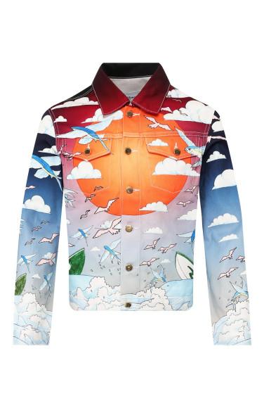Джинсовая куртка Casablanca, 43 350 руб.