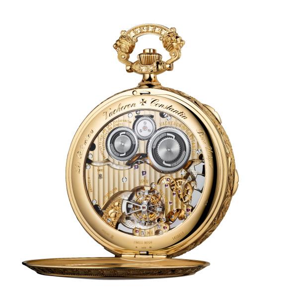 Механизм часов Les Cabinotiers Westminster Sonnerie «Посвящение Яну Вермееру», Vacheron Constantin