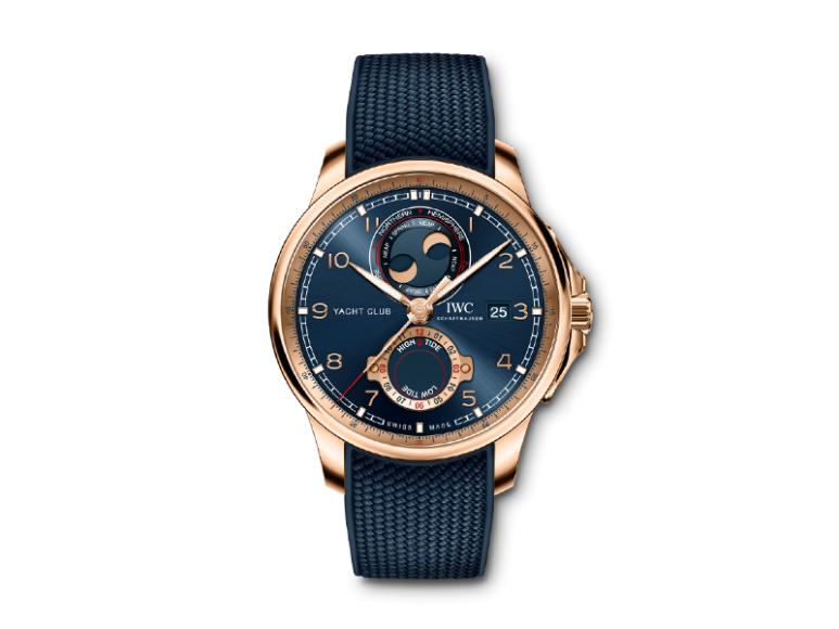 Часы Portugieser Yacht Club Moon Tide Chronograph, IWC