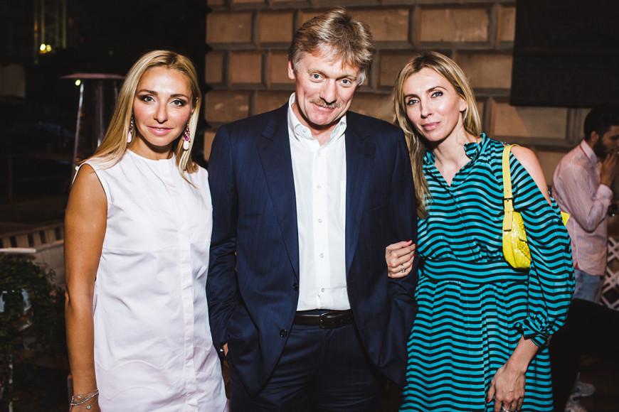 Татьяна Навка, Дмирий Песков и Светлана Бондарчук