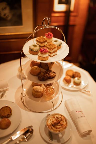 Чаепитие в Fouquet's Paris