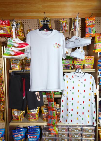 Футболки и шорты Puma X Haribo