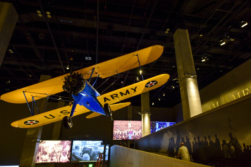 Американский самолет времен Второй мировой войны