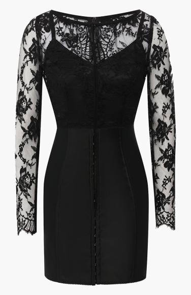 Платье Dolce & Gabbana (ЦУМ), 127 000 руб.