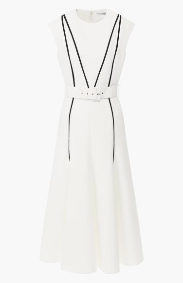 Платье Emilia Wickstead (ЦУМ), 124 500 руб.