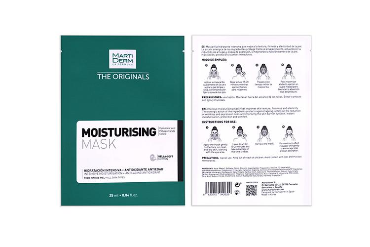 Тканевая маска The Originals Moisturising Mask, MartiDerm