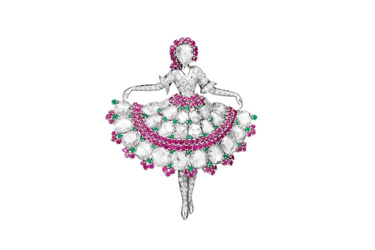 Брошь-балерина, вдохновленная Анной Павловой, 1943 год