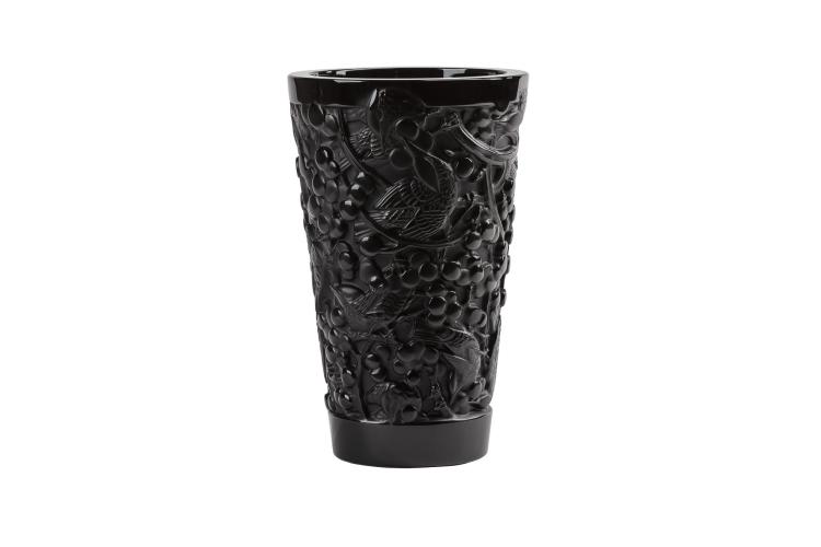 Ваза «Merles & Raisins», коллекция «Гея», Lalique