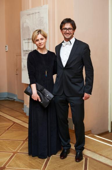 Ксения Малич и  Дмитрий Озерков