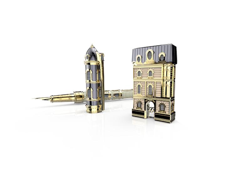 Ручка S.T. Dupont From Paris With Love, 835000 руб. (Третьяковской проезд)