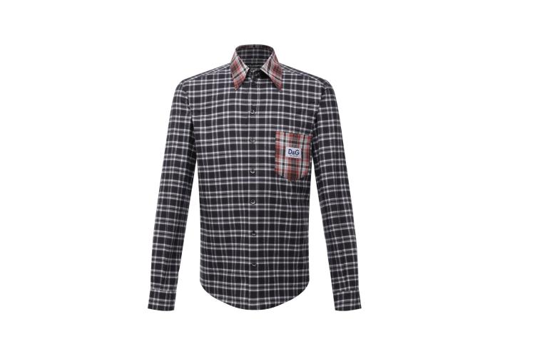 Хлопковая рубашка, Dolce & Gabbana, 66 500 руб.