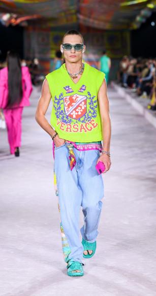 Versace, весна-лето 2022