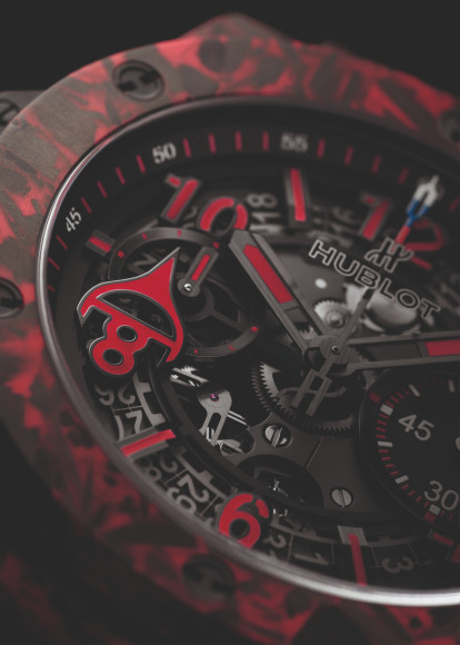 Хронограф Hublot Big Bang Unico Red Carbon Alex Ovechkin