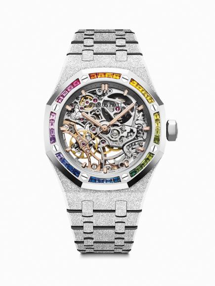 Часы Royal Oak Frosted Gold, Audemars Piguet, цена по запросу