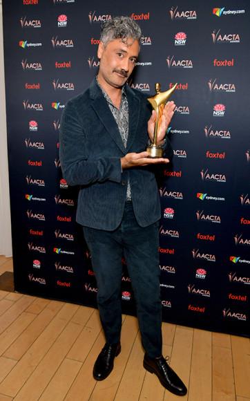 На церемонии вручения премииАвстралийской академии кинематографа и телевидения в 2020 году