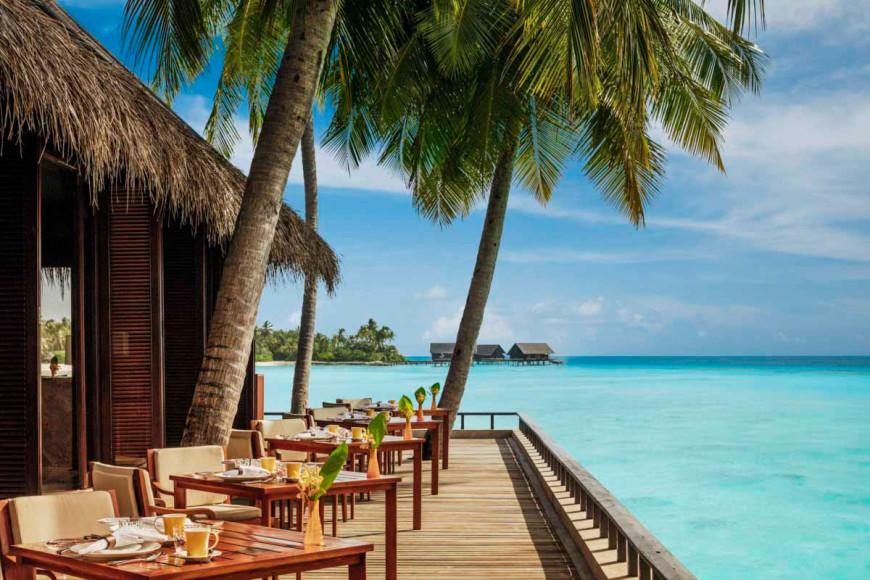 Ресторан Reethi Earth на курорте на курорте One&Only Reethi Rah (Мальдивы)