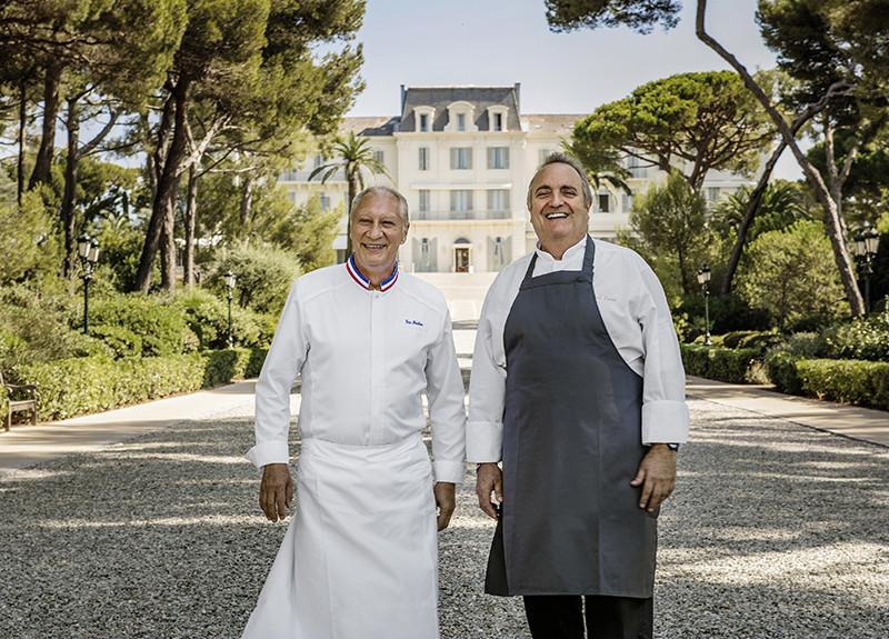 Шеф-повара Эрик Фрешон и Арно Поэтт,Hôtel du Cap-Eden-Roc
