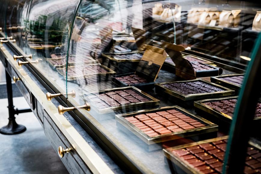 Шоколадная мастерская Le Chocolat Alain Ducasse