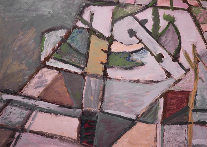 Владимир Яковлев. «Абстрактная композиция», 1978