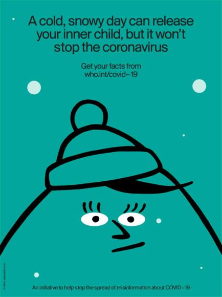 «Холодный снежный день поможет освободить вашего внутреннего ребенка, но не остановит коронавирус»