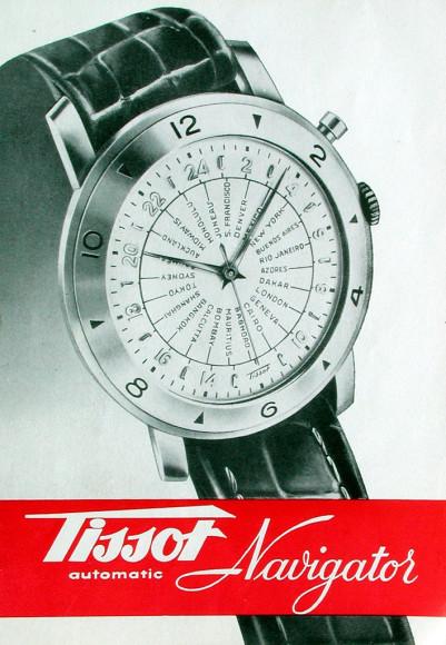 Культовая модель Tissot Navigator