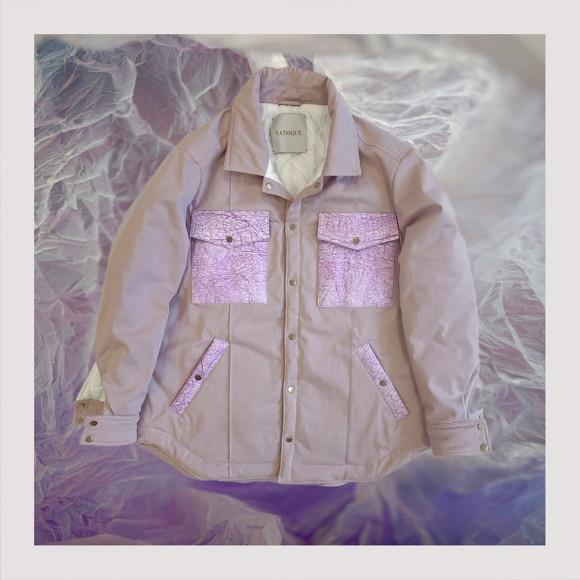 Куртка Vatniqueс отделкой из переработанных полиэтиленовых пакетов