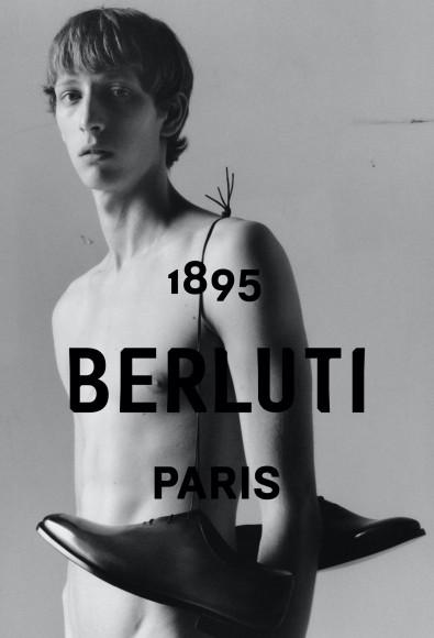 Первая рекламная кампания Berluti под руководством Криса ван Аша