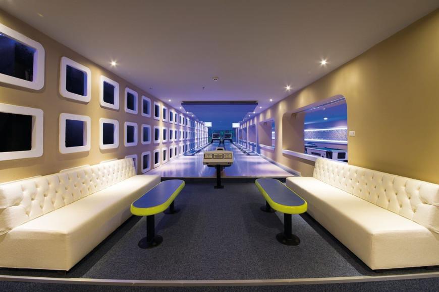 Боулингв отеле Limak Atlantis Deluxe Hotel & Resort (Limak Atlantis)
