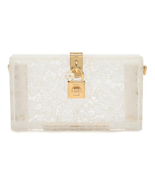 Клатч Dolce Box, Dolce & Gabbana (ЦУМ, Третьяковский проезд) — 114 500 руб.