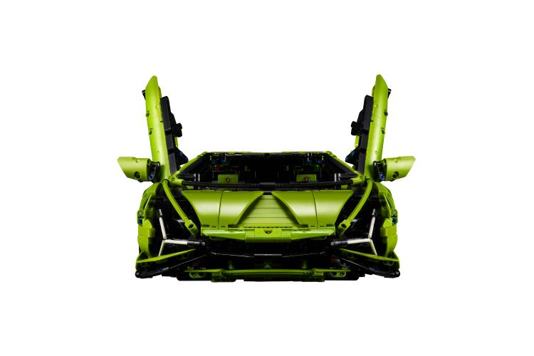 Набор Lego с автомобилем Lamborghini Sian FKP 37