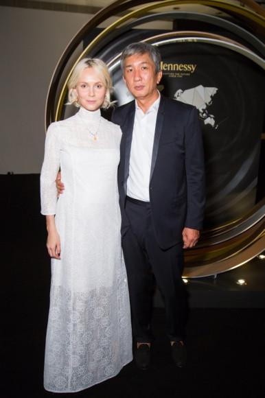 Павел Те (Capital Group) с супругой Ольгой Карпуть