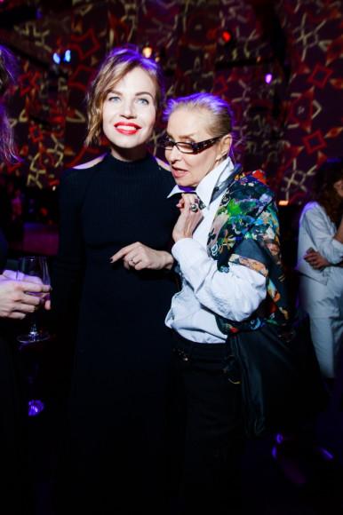 Ксения Тараканова и Ольга Свиблова