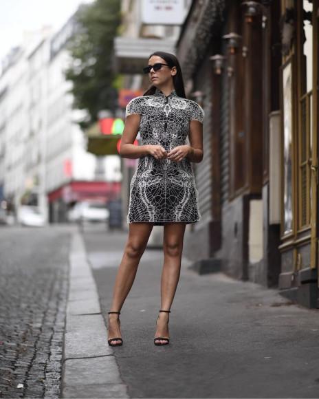 Полин Дюкрюэ на Неделе моды в Париже, 2018