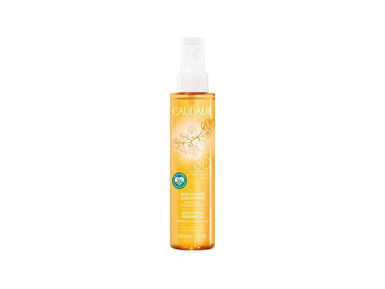 Солнцезащитное масло для совершенного загара Beautifying Suncare Oil SPF 30, Caudalie