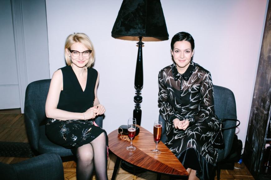 Эвелина Хомченко и Ксения Чилингарова