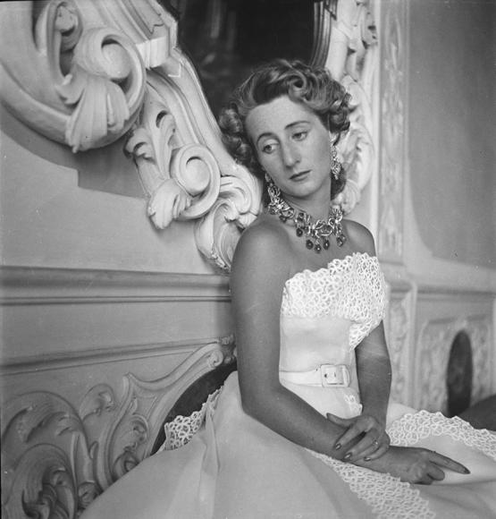 Графиня Кристиана Брандолини д'Адда, 1951