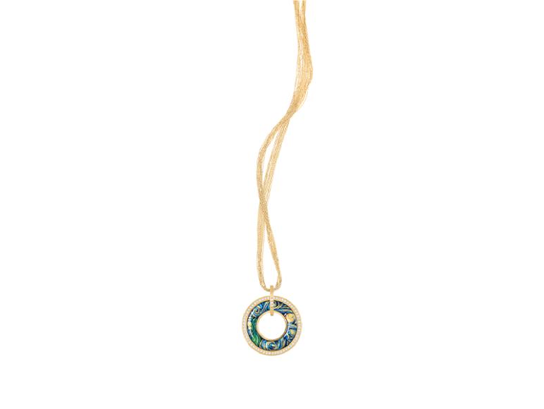 Кулон «Елена» (посвящение Ван Гогу), Freywille, 527970 руб. (ГУМ)