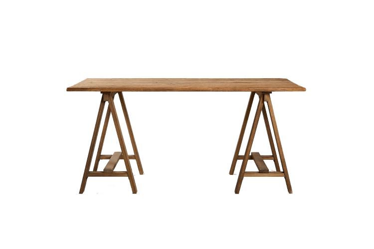 Письменный стол из переработанной древесины, 39999 руб. (Zara Home)