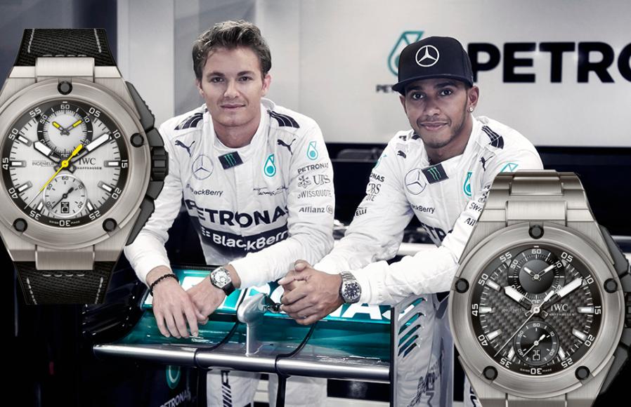 Ingenieur Chronograph Edition «Lewis Hamilton», IWC Ingenieur Chronograph Edition «Nico Rosberg», IWC