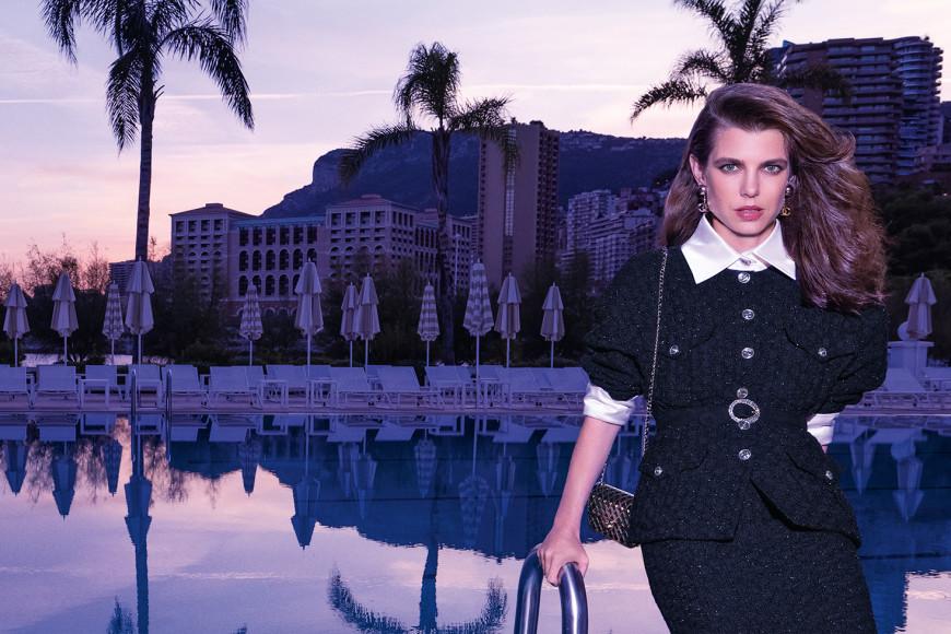 Внучка Грейс Келли Шарлотта Казирагив рекламной кампании Chanel сезона весна-лето 2021
