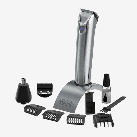 Беспроводной многофункциональный триммер Stainless Steel Advanced с корпусом из нержавеющей стали, WAHL. Цена: 11 490 руб.