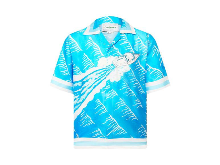 Мужская рубашка Casablanca, 51 950 руб. (tsum.ru)