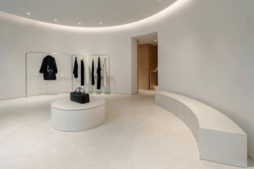Магазин Jil Sander в Париже