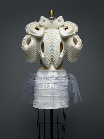 Ирис ван Херпен, платье haute couture, весна-лето 2010