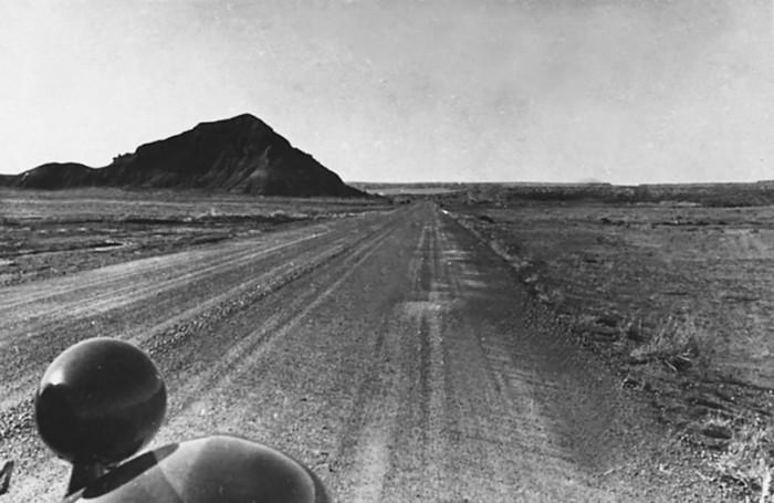 Пустыня в Аризоне. Фотография Ильи Ильфа. 1935 г.